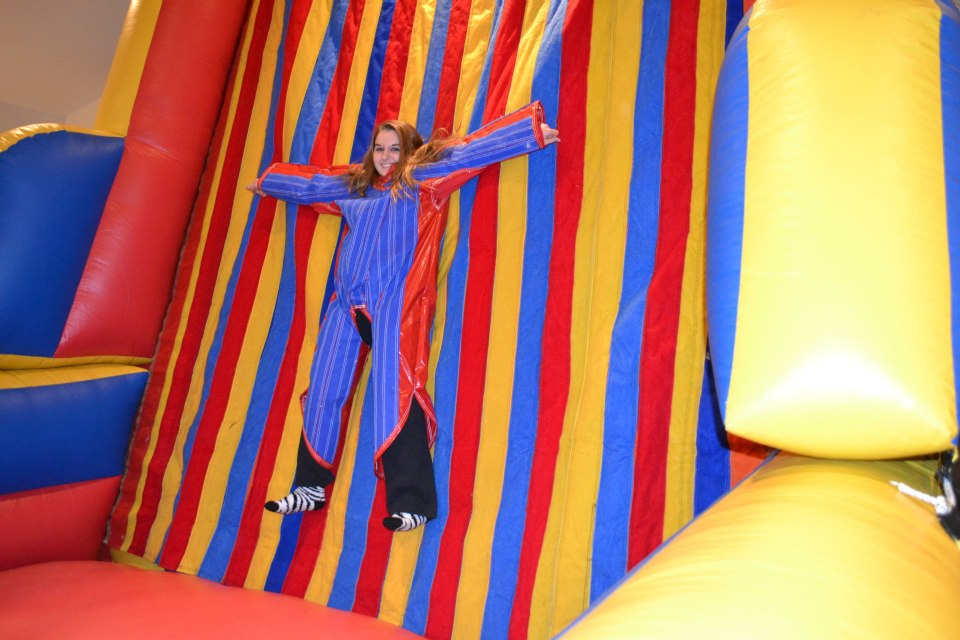 Sticky Velcro Wall rental will add fun to your school, church, company picnic, or teen birthday party